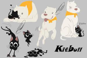 kitbull by fnafmangl