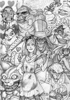Alice in Wonderland.. by Arioanindito
