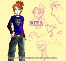 Teenage Tamers: Rika by TwilightMistress-19