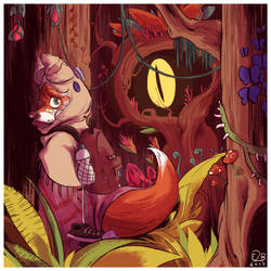 Little Fox Riding Hood by Elisa2B