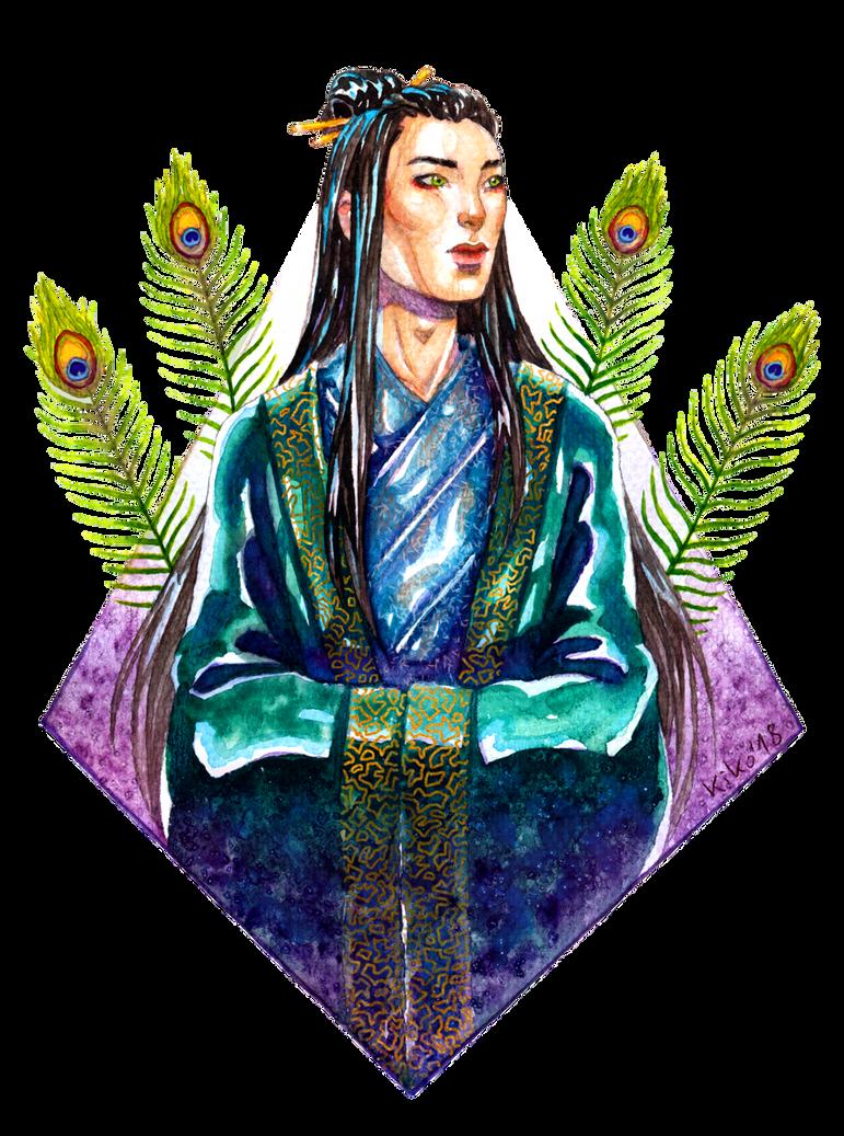 Art Trade: Ming-Gwok by kiko-burza