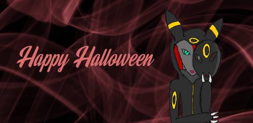 Kitsunes Happy Halloween by Dark-Vulpes