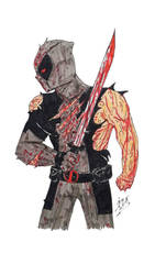 Deadpool : X-Force by BOSSTHITIWUT