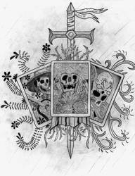 Sword and Skulls by Kronos1698