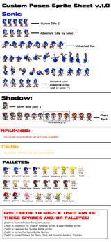 Custom Poses Sprite Sheet v1.0 by Miszi