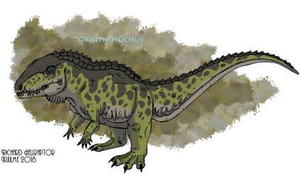 Ornithosuchus woodwardi by HellraptorStudios