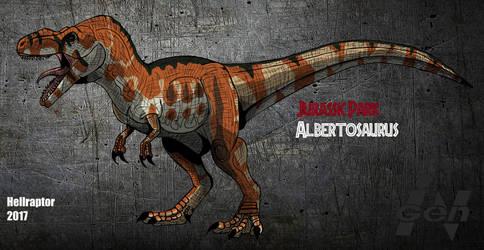 Jurassic Park: Albertosaurus by HellraptorStudios