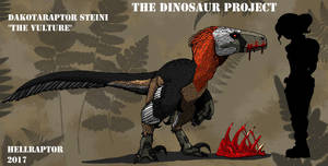 Dakotaraptor steini-The Vulture by HellraptorStudios
