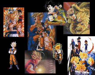 Goku Collage by knochnkopf