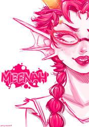Meenah by Ron-nie