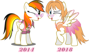 Rosie Sievers over time by TheEditorMLP