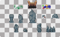 Random Tiles: 4 by LogiedanT-T