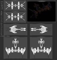 Minmatar Battleship - Ripper by MoonredStarblack
