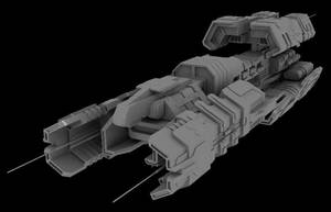 Old Ship v3 by MoonredStarblack