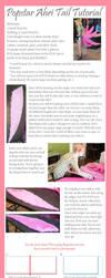 Popstar Ahri Tail Tutorial by Azumii-Cosplay