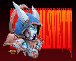 Battle Commander Ilsvett by WBreaux