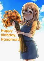 Happy Birthday, Maru-chan! by klaeia