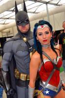 Batman and Wonder Woman Cosplay at 2015 OzComicCon by rbompro1