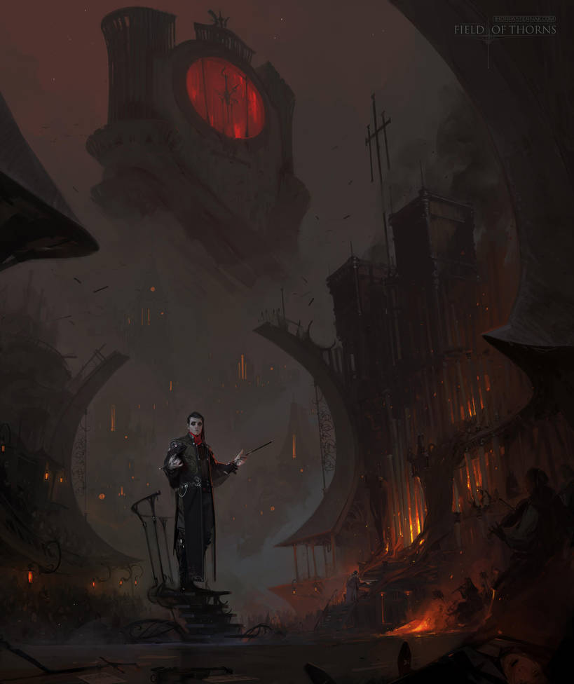 FIELD OF THORNS - SECULUM FATALIS by Caisne