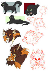 .:Hollyleaf and Mapleshade:. by CrimsonPencil94