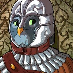 .:Roman Owl:. by CrimsonPencil94