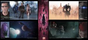 Armies Of Mass Effect 3 by EskarArt