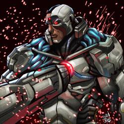 Cyborg by TheMikidusBalox