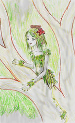 mostbeautifuldryad by psychedelicpixie
