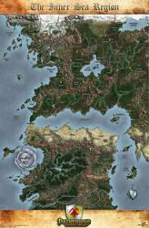 The Inner Sea Region Map by MarkonPhoenix