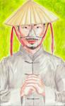 Noseless man by Ktoya