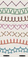 Illustrator Stitch Brushes by Jeremychild