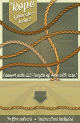 Photoshop Rope generator by Jeremychild