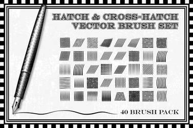 Hatch and Cross-hatch-brushes by Jeremychild