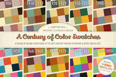 A Century of Color Swatches + Bonus by Jeremychild