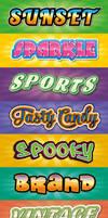 Headline and Logo Graphic Styles by Jeremychild
