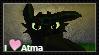 I Love Atma Stamp by GreenInsanity