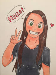 My First Copic Drawing by GreenInsanity