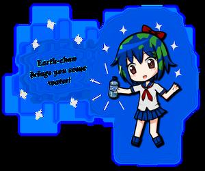 Earth-chan by ClemiNeko