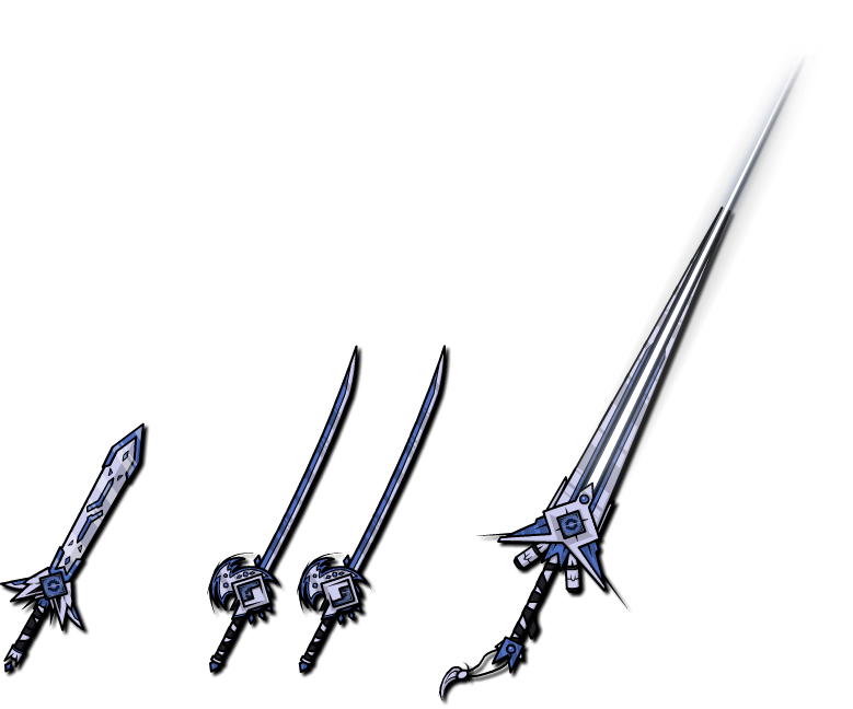 Weapon Collection 3 by ClemiNeko