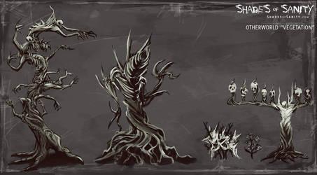 Shades of Sanity - Vegetation by Alemja