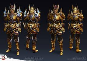 Guild Wars 2 - Glorious Heavy Armor by Alemja