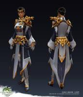 Guild Wars 2: Heart of Thorns - Light Guild Armor by Alemja