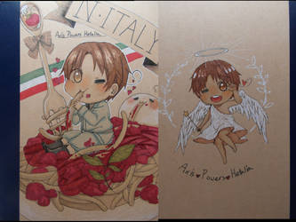 Muji Notebook Cover Drawing N Italy By Fraujnnluddy On Deviantart