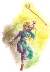 Shining Force_Khris by Kitabana