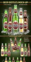 Beer Bottles Mock-Up by kotulsky