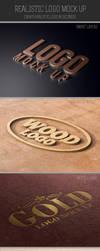 Realistic Logo Mock Up by kotulsky