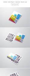 Letter Size Flyer / Poster Mockup by kotulsky