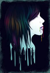 Creative vomit by p00pstr34ks