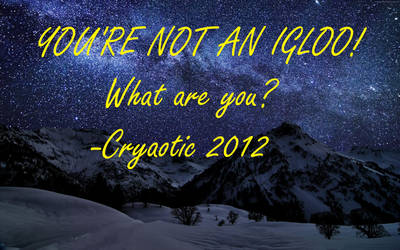 Cryaotic Quote 4 by leoninja97