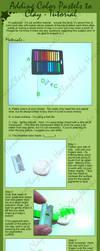 Adding Pastels - Tutorial by HanaClayWorks